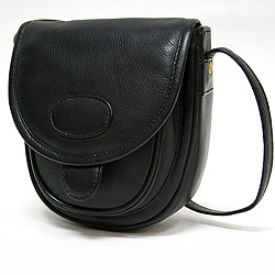 Le Sabbi Waxed Leather Handbag