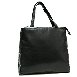 Le Sabbi Waxy Leather Shopper