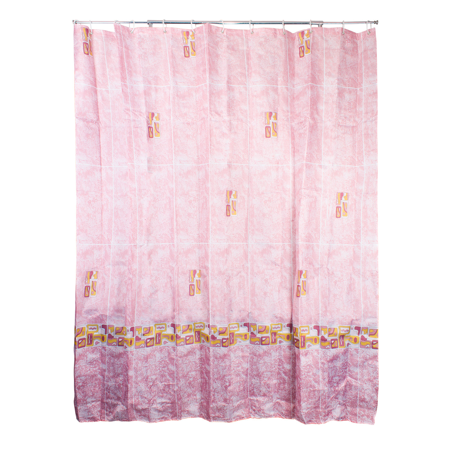 Westward Ho! Textile Shower Curtain