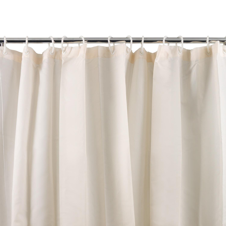 Alami bathroom accessories westward ho plain textile for Plain pink shower curtain