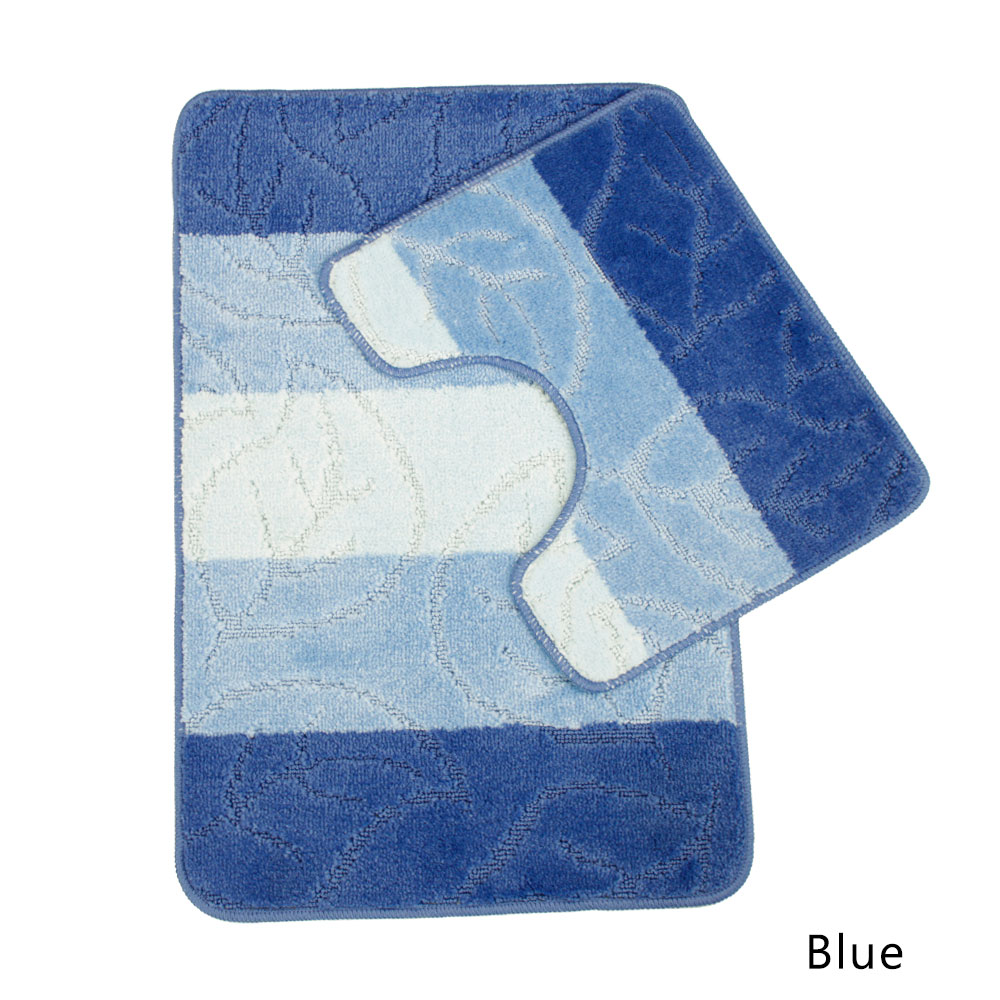 Jimmy Shadow Ravello Collection 2 Piece Multi Bath Mat Set