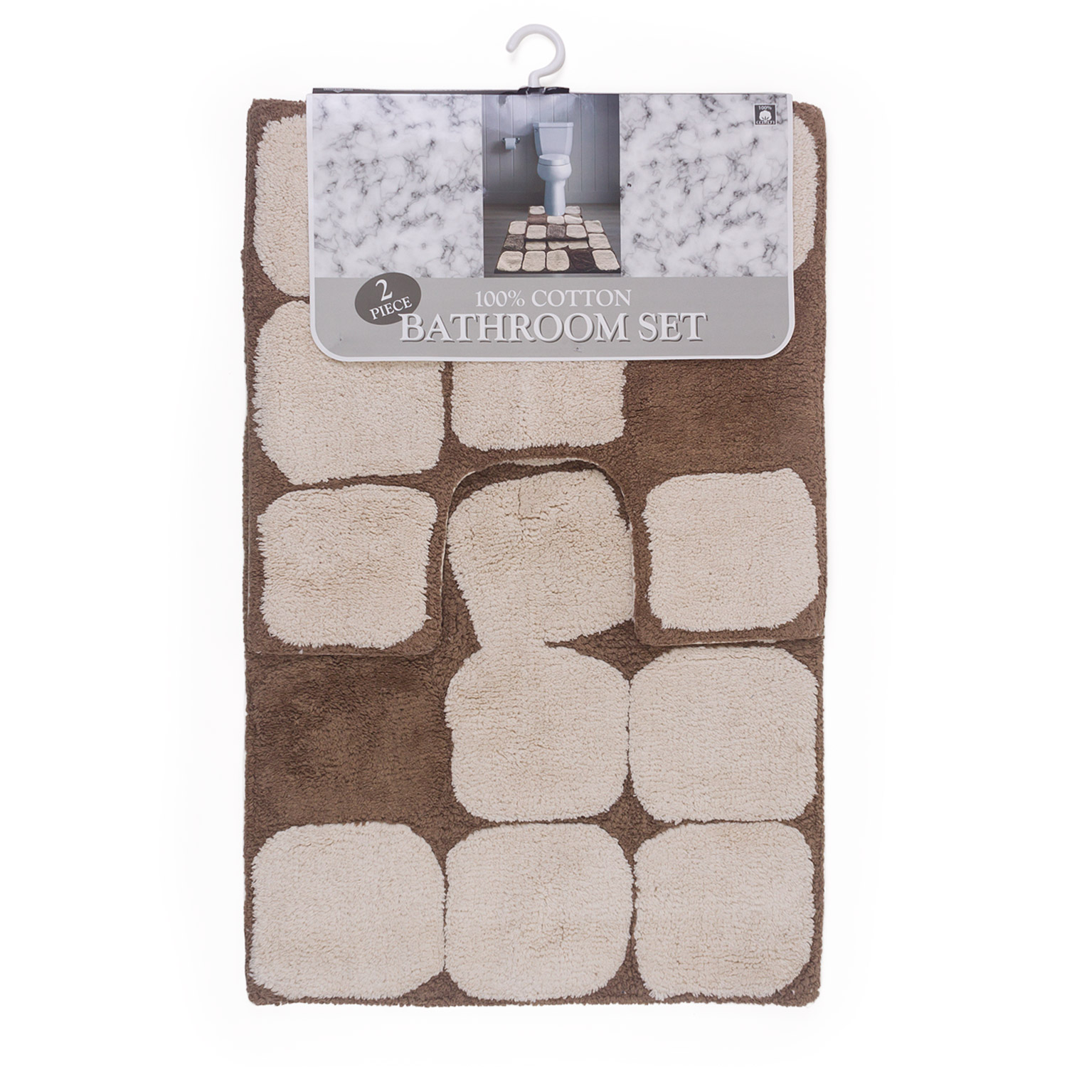 Pebble 2 Piece Cotton Bath Set