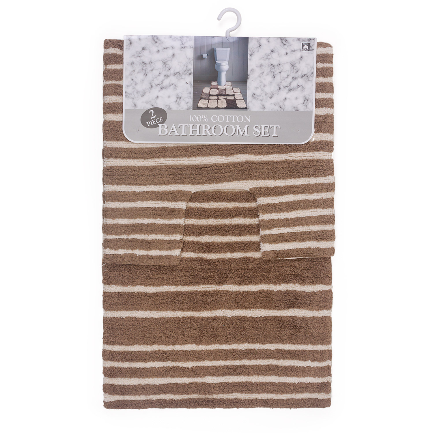 Shore 2 Piece Cotton Bath Set