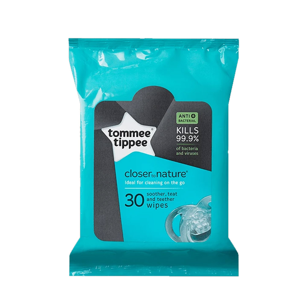 Tommee Tippee Soother & Teat Wipes