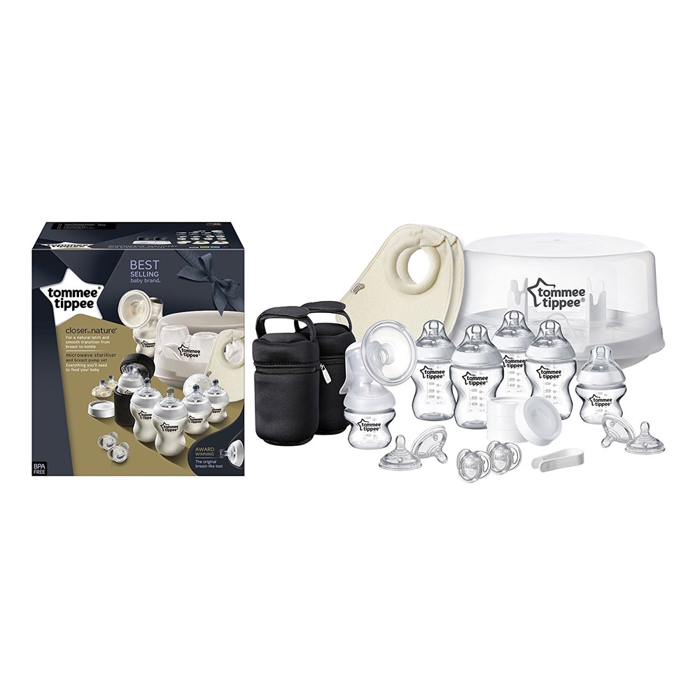 Special Microwave Sterilizer & Breast Pump Kit