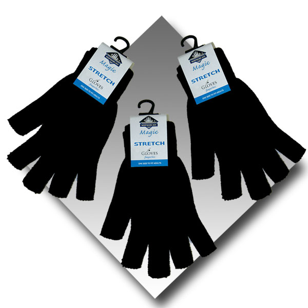 Adult Magic Fingerless Gloves