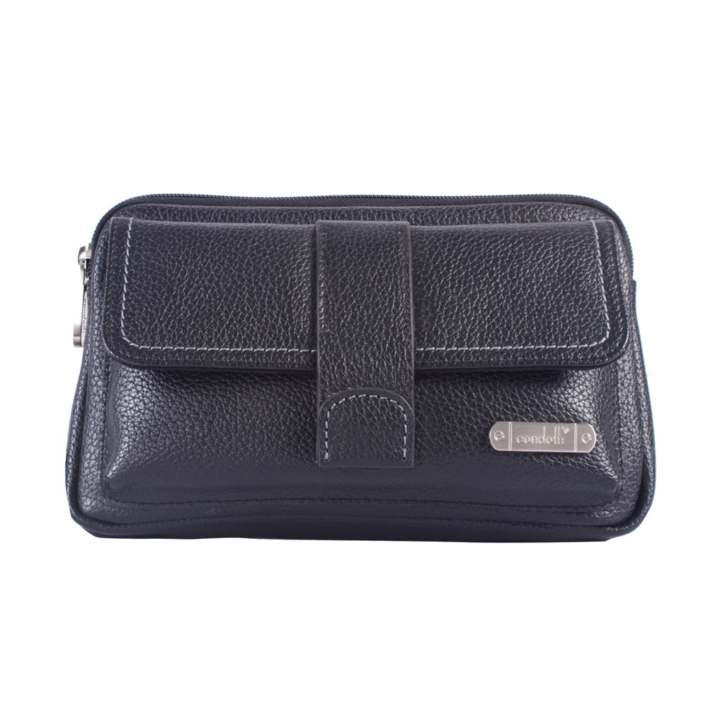 Condotti Leather Pouch