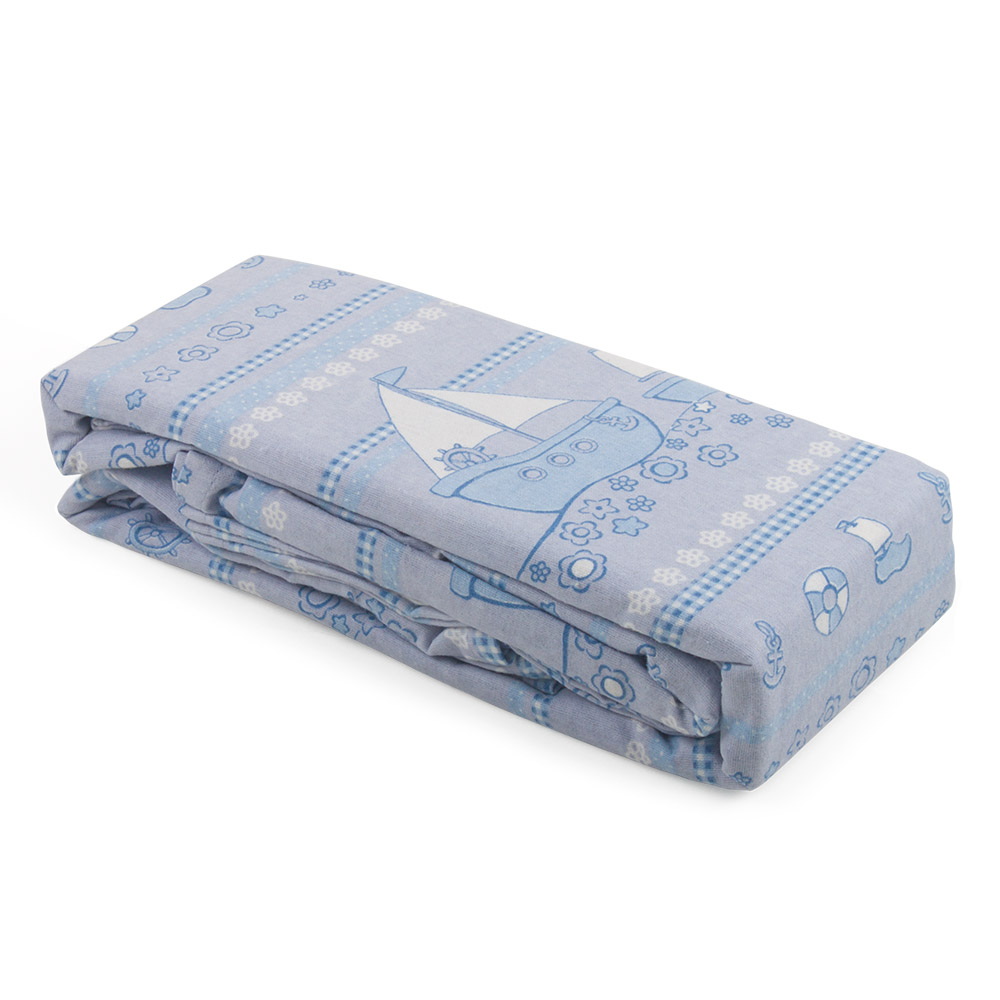 Junior Joy Printed Cot Flannelette Sheet