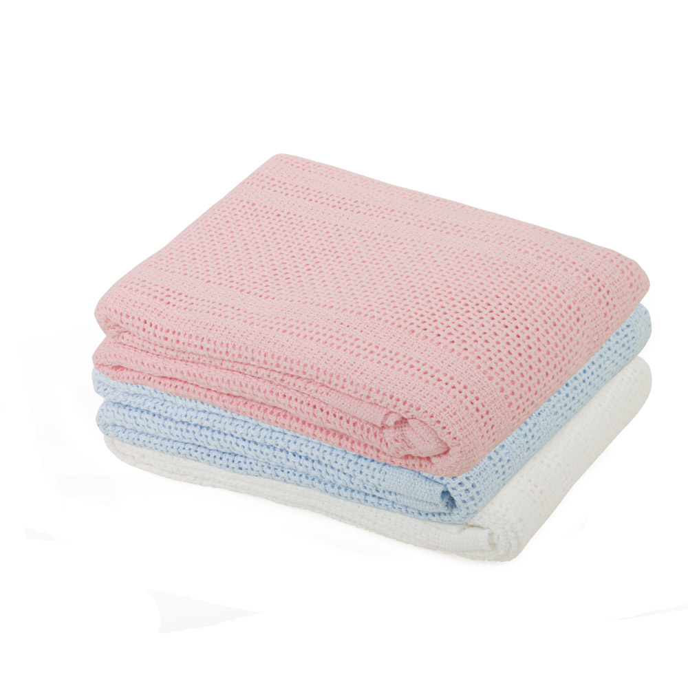 Junior Joy Cot Cotton Cellular Blanket