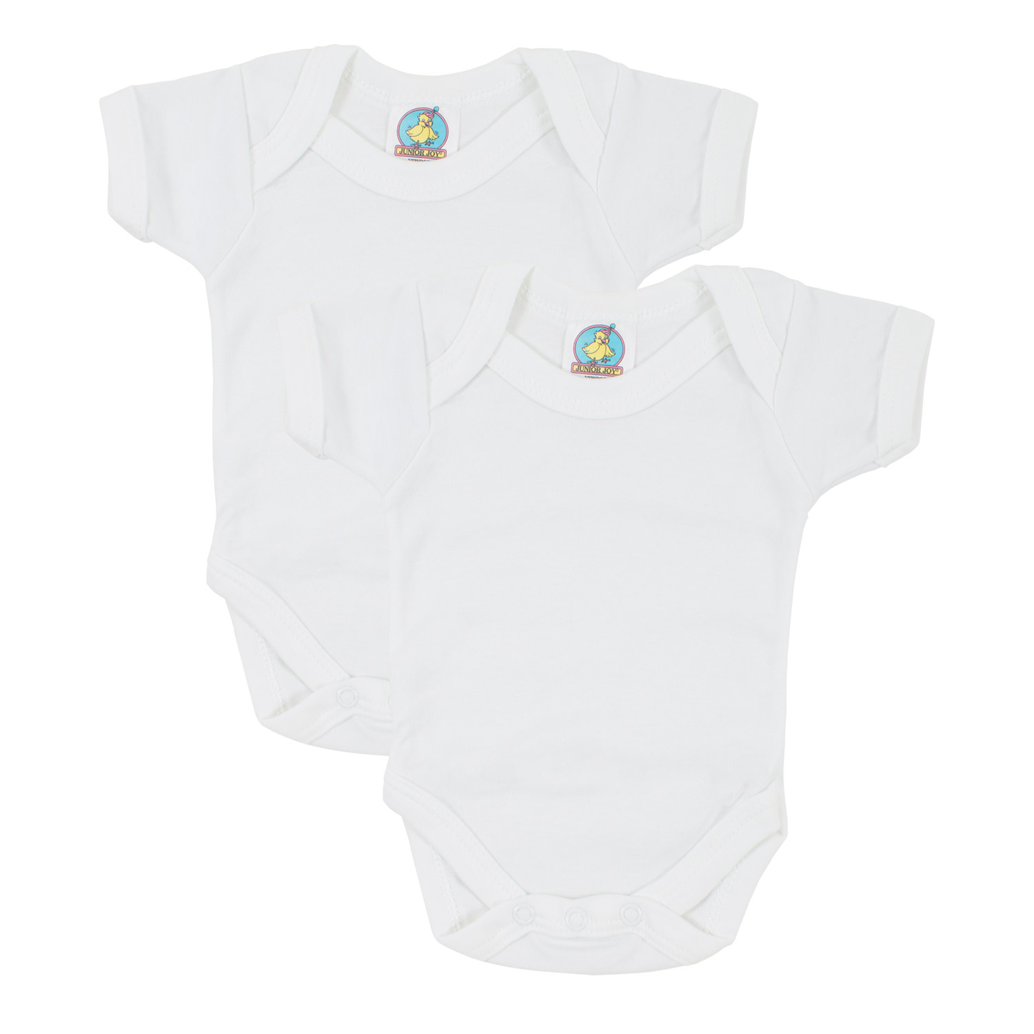 Junior Joy Short Sleeve Bodysuit - White
