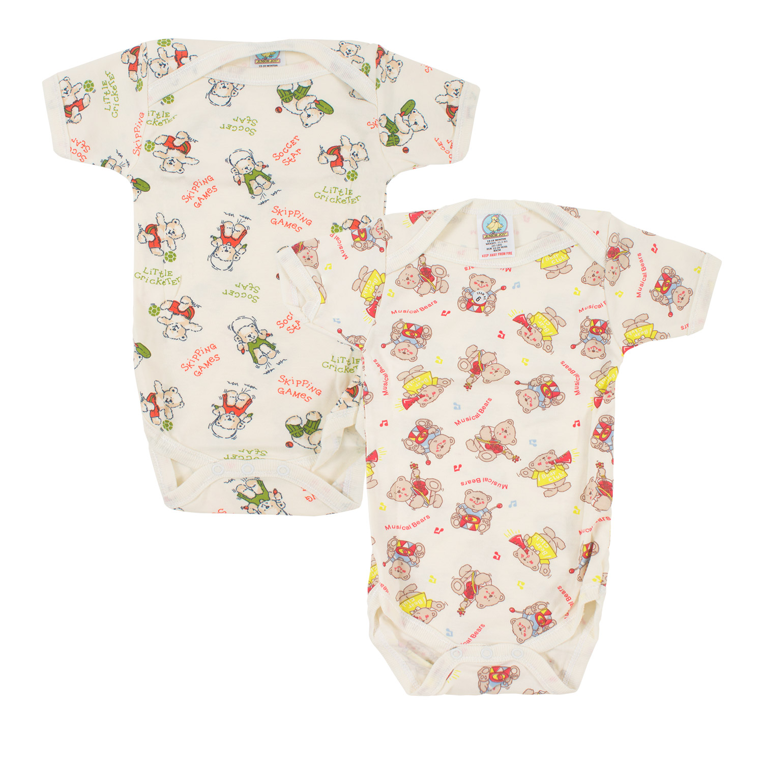 Junior Joy Short Sleeve Bodysuit - Printed