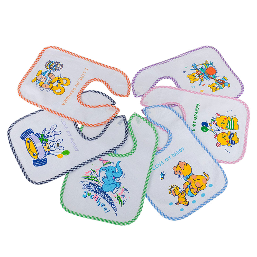 Junior Joy Baby Easy Fastener Bibs