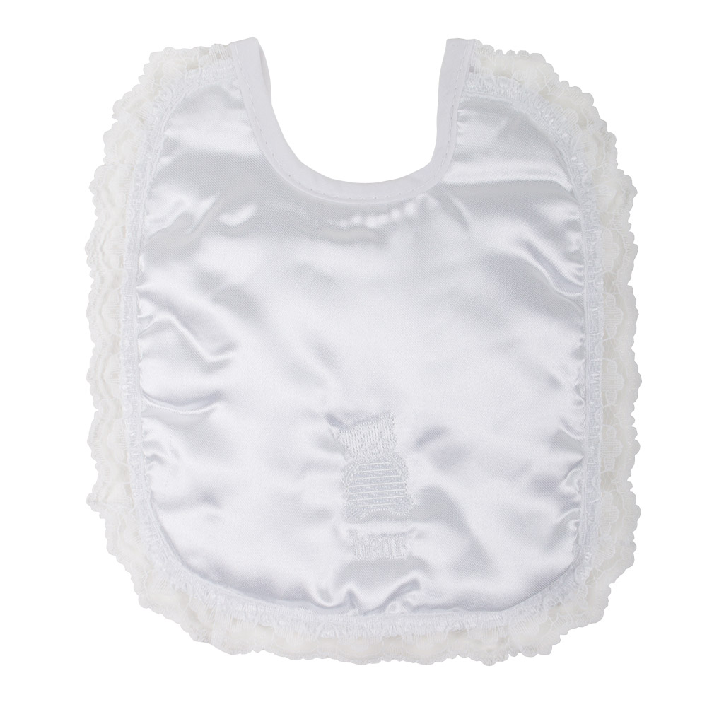 Junior Joy Embroidered Baby Bibs