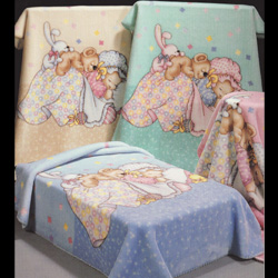 Junior Joy Alma Cot Bed Baby Blanket