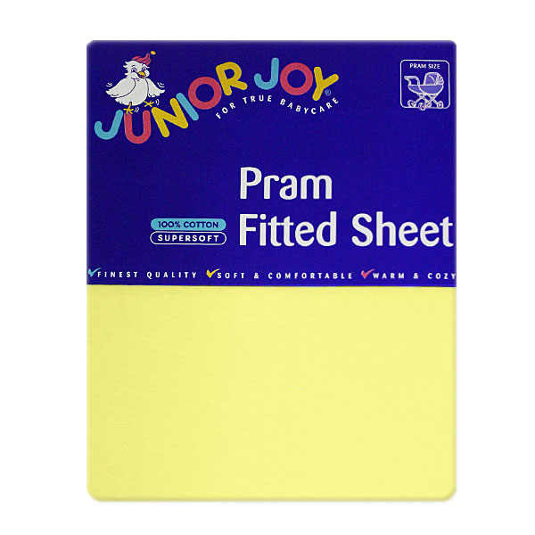 Junior Joy Pram Fitted Sheet