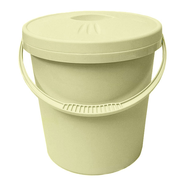 Junior Joy Round Nappy-Pail with Lid