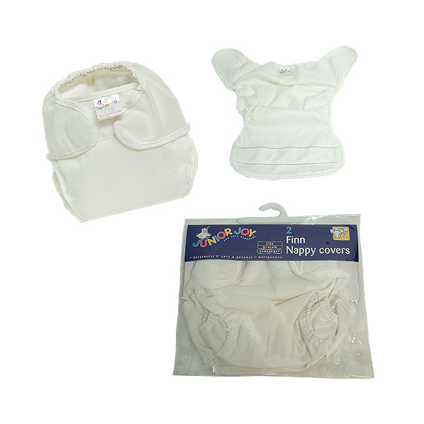 Junior Joy 2 Pack Finn Nappy Covers