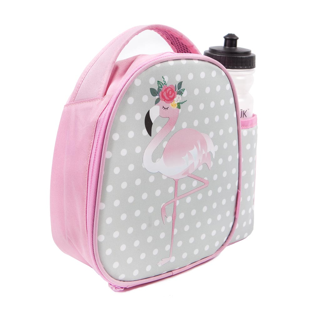 JJK Flamingo Lunch Bag & Bottle