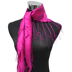 Triangle Silk Scarf