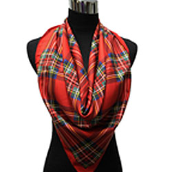 Square Royal Stuart Scarves