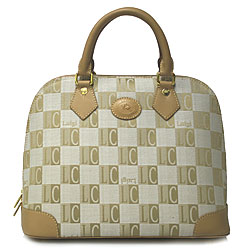 Luigi LC Check Bugatti Bag
