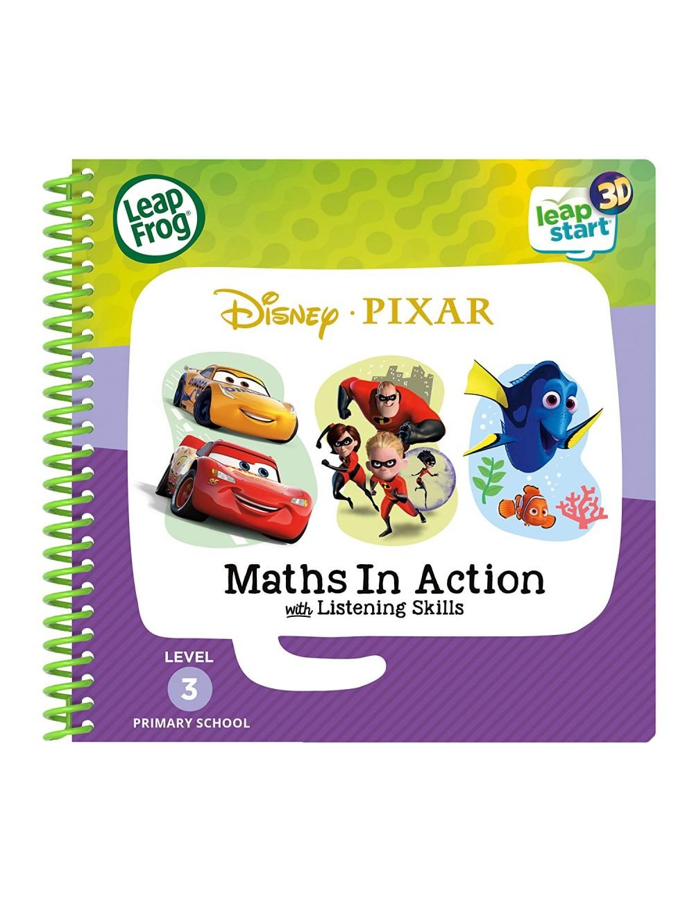 Leapfrog Reception: Disney Pixar Maths in Action Activity Book (3D Enhanced)