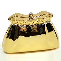 Farfalla Brass Bag