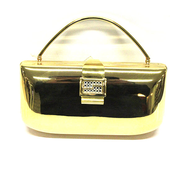 Farfalla Brass Metal Bag