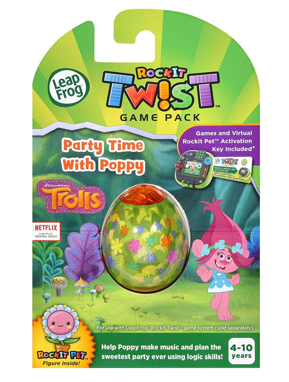 Leapfrog Trolls: Party Time with Poppy Game Pack