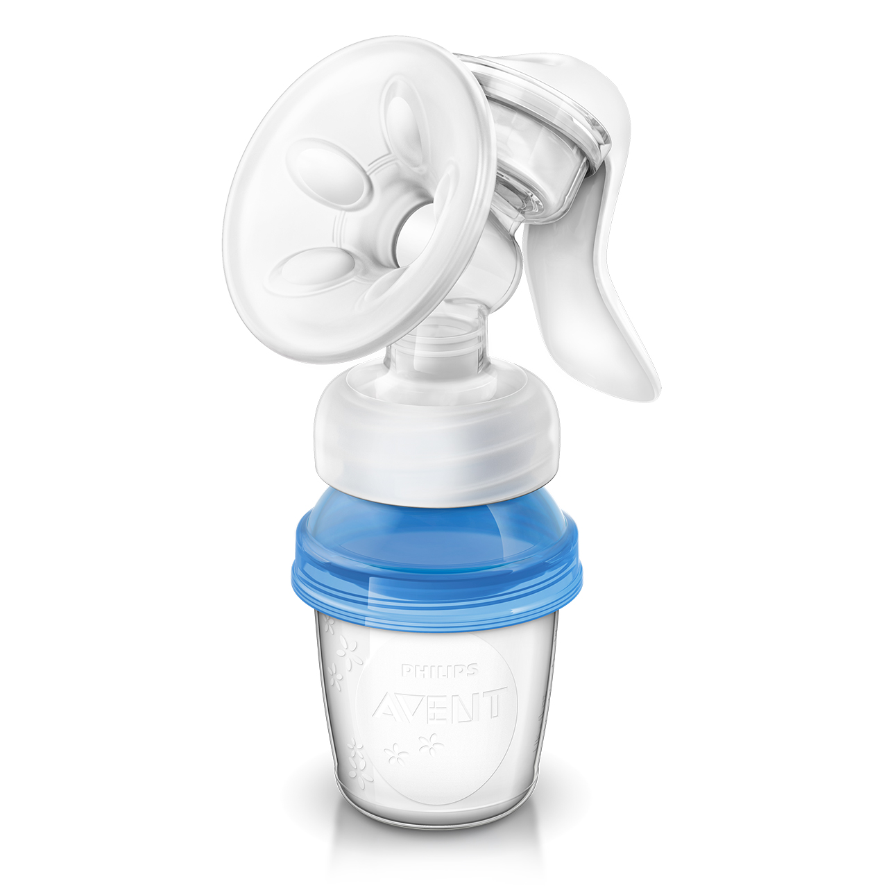 Avent Comfort Manual Breast Pump with VIA