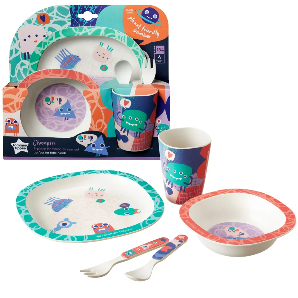 Tommee Tippee Bamboo Dinner Set