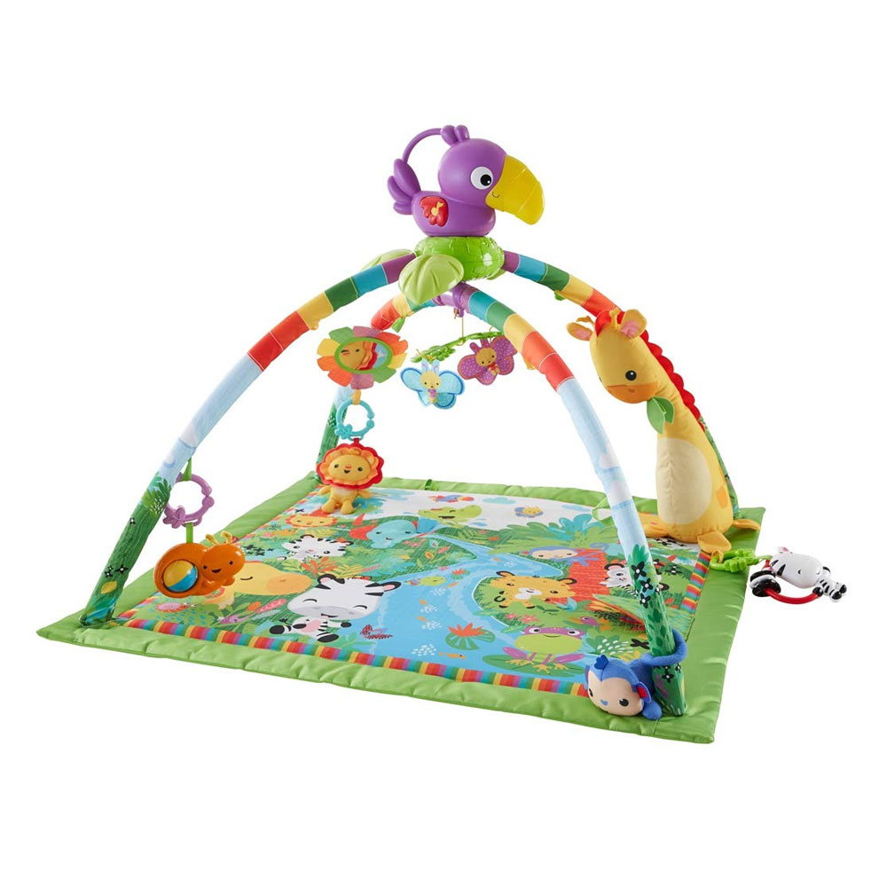 Fisher Price Deluxe Mobile Gym Rainforest