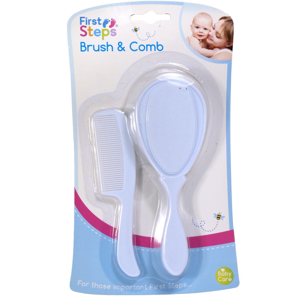 First Steps Brush & Comb Set