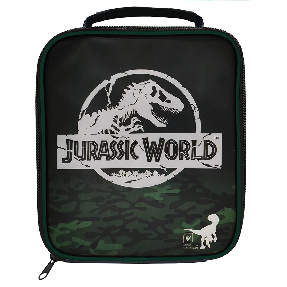 Polar Gear Jurassic World Camo Rectangular Lunch Bag