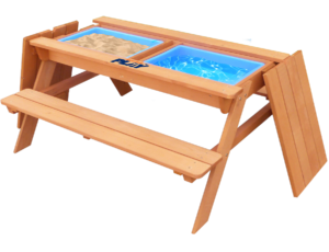 Hedstrom Play Sand, Water, and ball play table and Bench 1