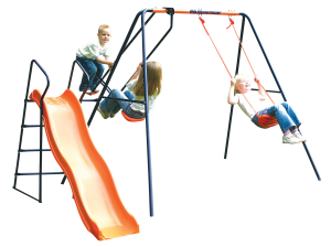 Hedstrom Saturn Swing, Glider, Slide