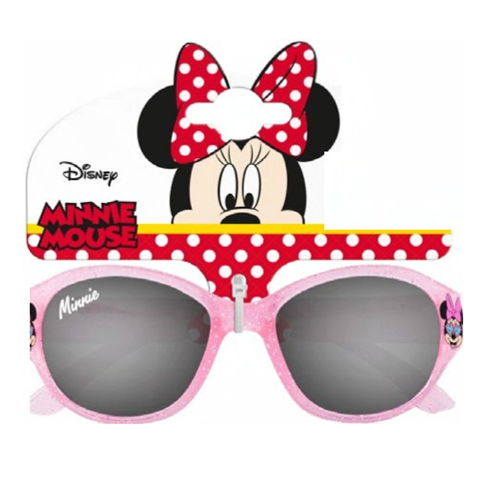 Minnie Mouse Round Injected Glitter SG