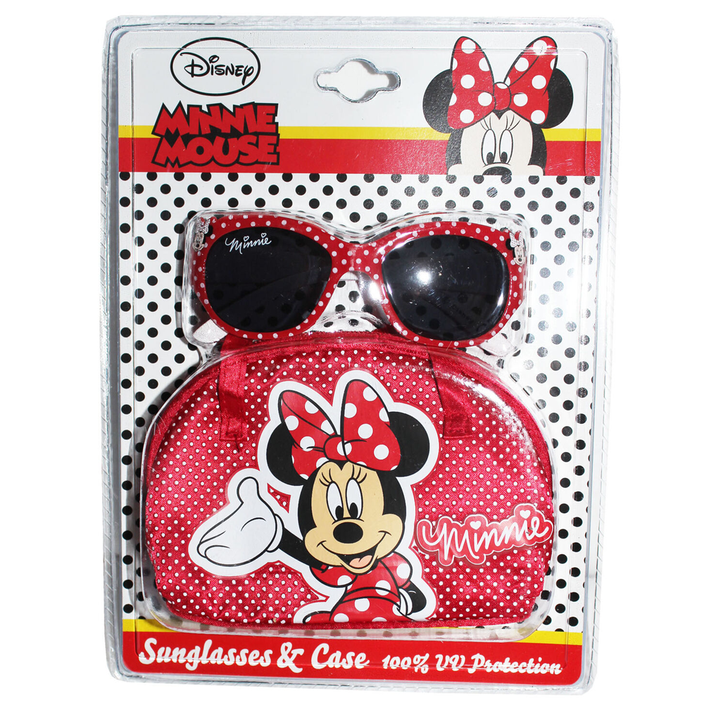 Minnie Mouse Sunglasses and Case Pack