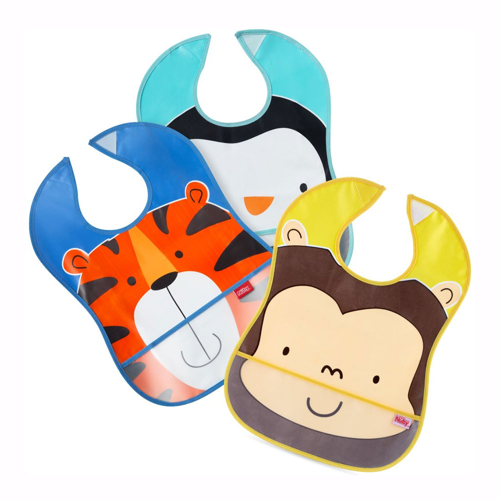 Nuby Catch All Bibs 2 Pack