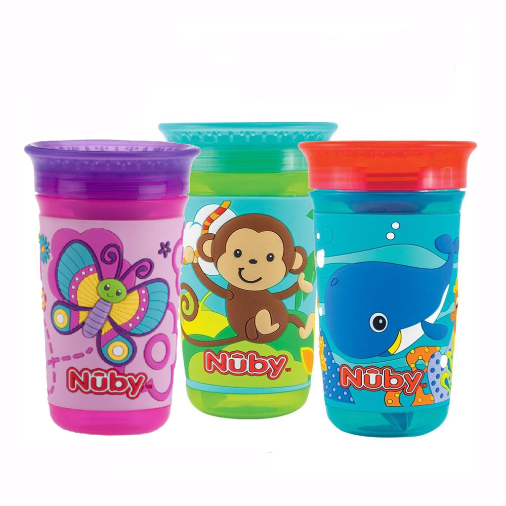Nuby 360 3D Decorated Maxi Cup