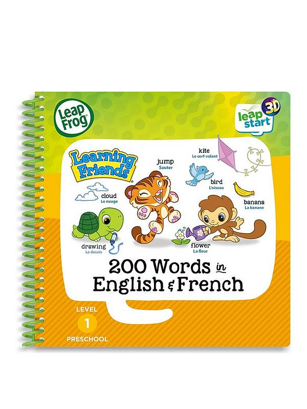 LeapFrog Learning Friends 200 Words in English & French