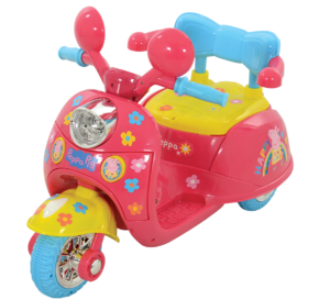Peppa Pig 6V Battery Operated Motorbike