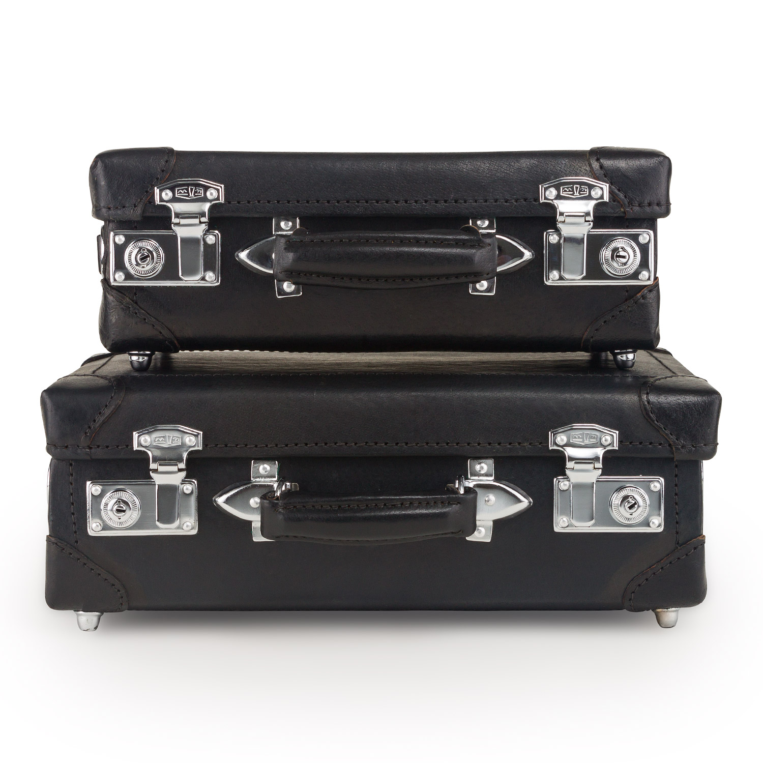 Leather Briefcase Set