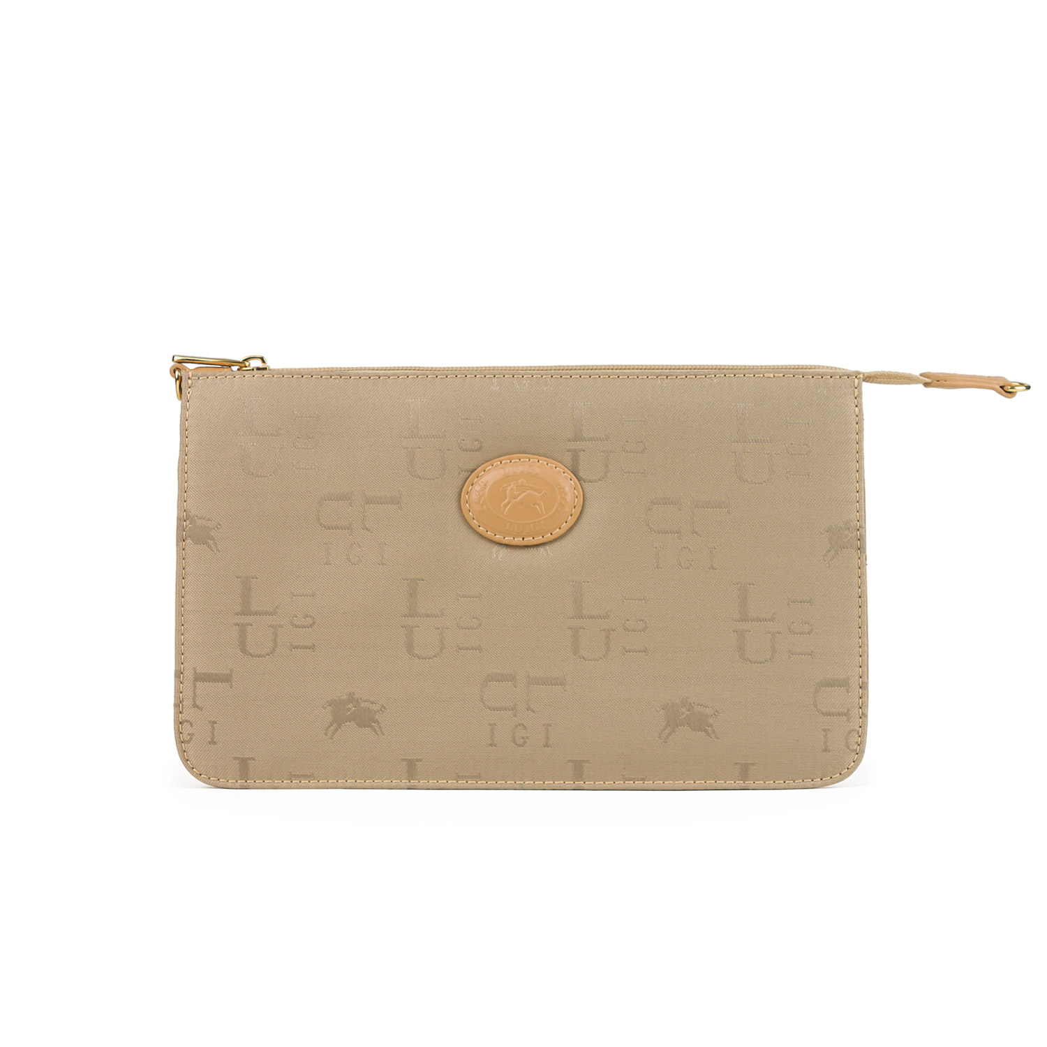 Luigi Jacquard Clutch Bag