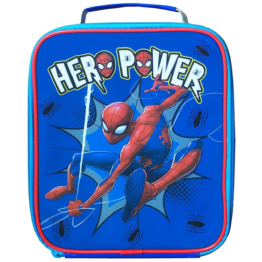 Polar Gear Spider-Man Hero Rectangular Lunch Bag