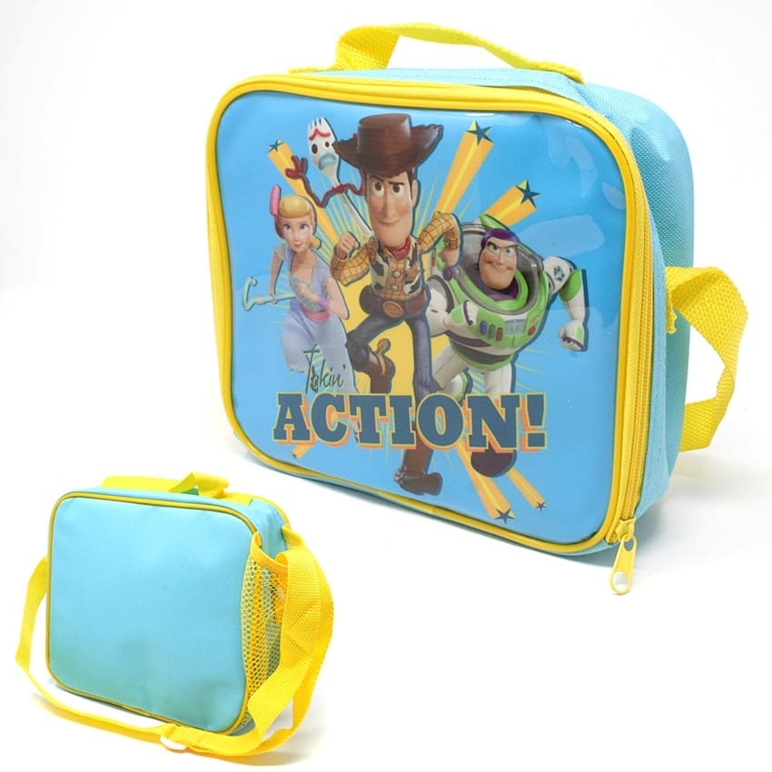 Toy Story Lunch Bag With Side Pocket  and Shoulder Strap