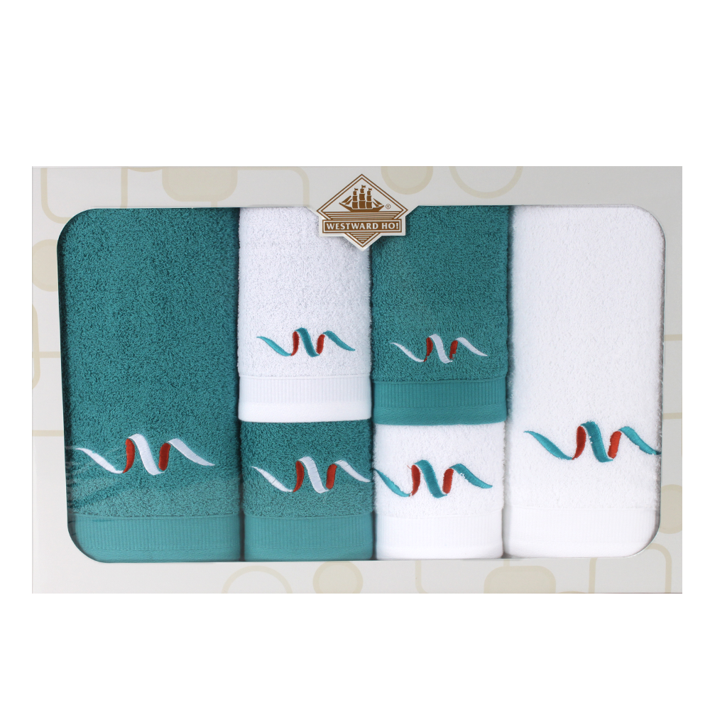 Westward Ho! 6 Piece Signature Boxed Towel Set