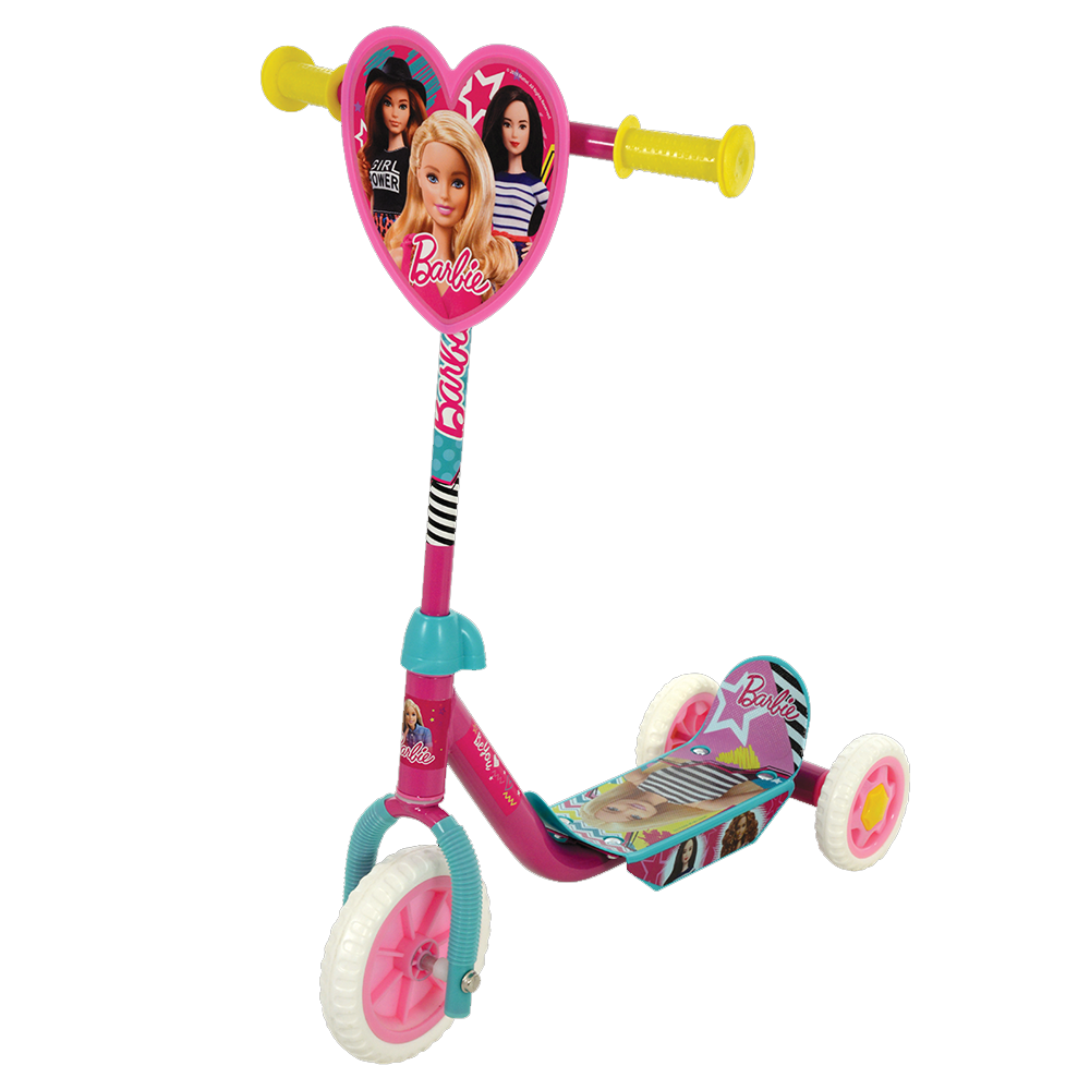 Barbie Deluxe Tri Scooter