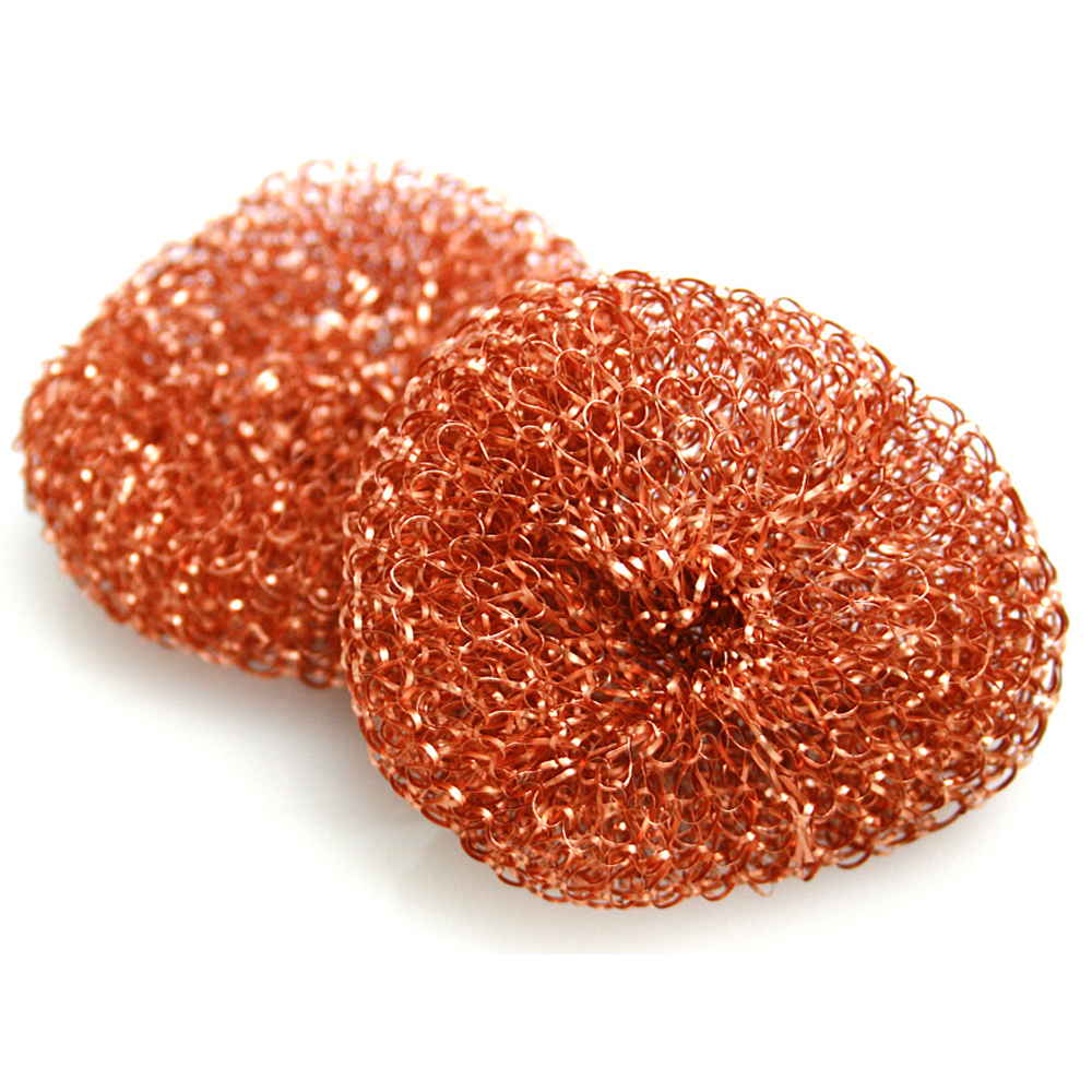 Copper Plated Scourers