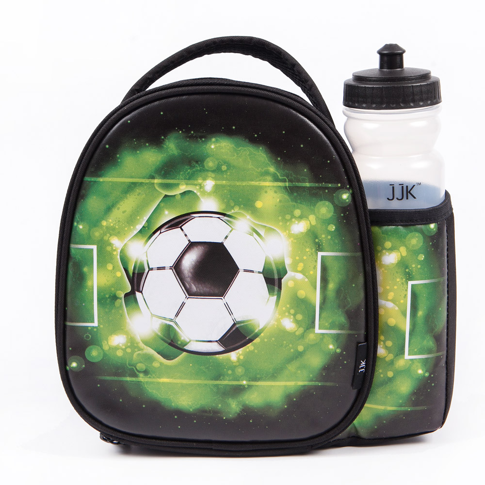 JJK Football Lunch Bag & Bottle